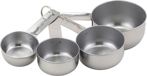 HIC Stainless Steel Measuring Cup, Set of 4