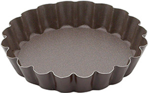 Gobel Non Stick Quiche Pan with Removable Bottom, 4in