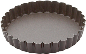Gobel Non Stick Quiche Pan with Removable Bottom, 4.15in