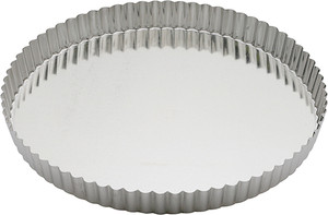 Gobel Quiche Pan Pan with Removable Bottom, 11in