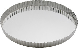 Gobel Quiche Pan Pan with Removable Bottom, 12.5in