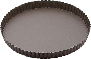 Gobel Non Stick Quiche Pan with Removable Bottom, 11in