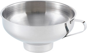 HIC Stainless Steel Canning Funnel, 5.5in