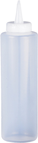 HIC Squeeze Bottle, Clear, 12oz