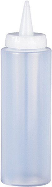 HIC Squeeze Bottle, CLear, 8oz