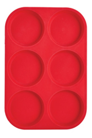 Mrs. Anderson's Baking Silicone 6-Cup Muffin Top Pan