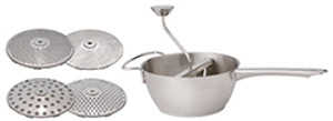 HIC Food Mill with 4 Blades, 2qt
