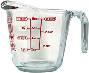 Anchor Glass Measuring Cup, 1 Cup