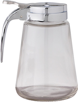 HIC Syrup Dispenser, Glass