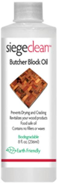Siege Butcher Block Wood Oil, 8oz