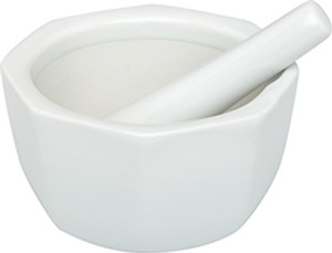 HIC Octagona Mortar and Pestle, 4.5in