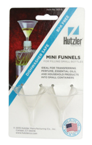 Huztler Plastic Mini Funnel, 1.6oz