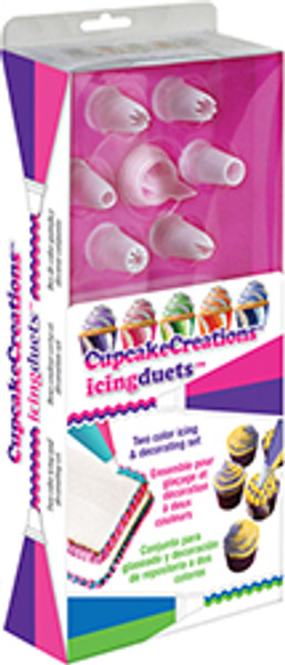 Cupcake Creations Disposable Duet Icing Bags, Set of 20
