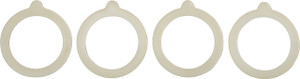 Silicone Gasket, Set of 4