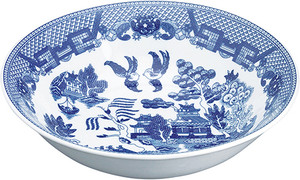 HIC Blue Willow Vegetable Bowl, 38oz