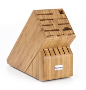 17-Slot Bamboo Block