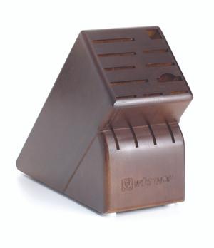15-Slot Walnut Block