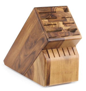 17-Slot Acacia Knife Block