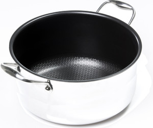 "Black Cube Stockpot, 11"" dia., 7.5 qt., 240 fl. oz."