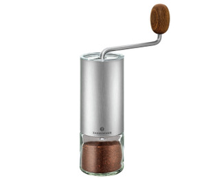 "Coffee Mill ""Quito"", s/s Tritan glass, 2.4"" dia. X 8.7"""