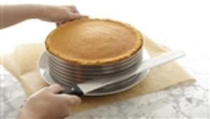 Layer Cake Slicing Kit, stainless steel