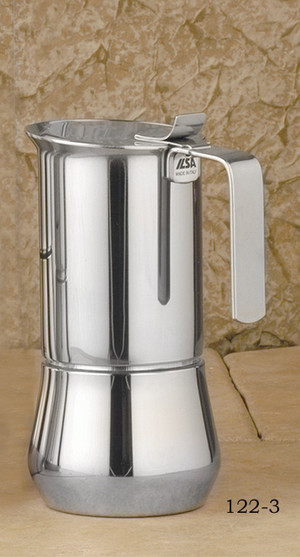ILSA Stainless steel stove top, 3- cup