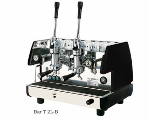 La Pavoni commercial Lever espresso machine Bar T 2 Groups Black