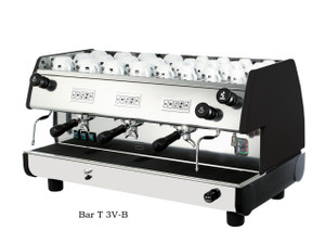 La Pavoni commercial Volumetric espresso machine Bar T 3 Groups Black