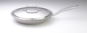 10.5in  Fry Pan w/Cover