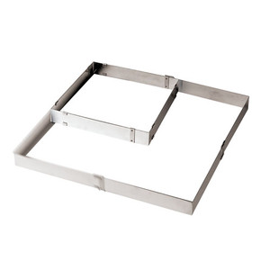 """Adjustable Square Frame Exten, FROM 11 7/8""""X11 7/8""""TO22 X 2"""""""