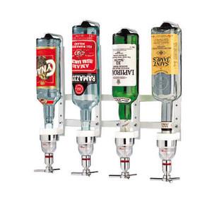 """Aluminum Bottle Rack, 6 Bottl, L 26 3/8"""""""