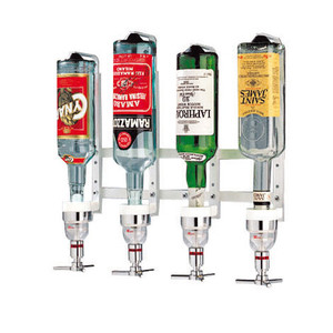 """Aluminum Bottle Rack, 4 Bottl, L 16 1/8"""""""