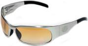 OutLaw Eyewear Inmate 2 Polished frame Orange Gradient lenses