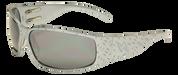 Tornado GunMetal Aluminum frame with Gray Lenses Motorcycle Biker Aluminum Sunglass