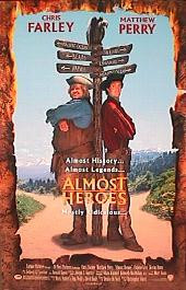 ALMOST HEROES original issue rolled double sided 1-sheet movie poster