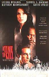 A TIME TO KILL original issue rolled 1-sheet movie poster