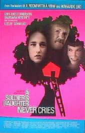 A SOLDIERS DAUGHTER NEVER CRIES 1998 original issue rolled 1-sheet movie poster