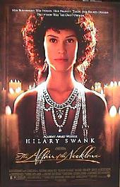 AFFAIR OF THE NECKLACE,THE 2001 original issue rolled double sided 1-sheet movie poster