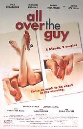 ALL OVER THE GUY original issue rolled 1-sheet movie poster