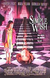 A SIMPLE WISH original issue rolled double sided 1-sheet movie poster