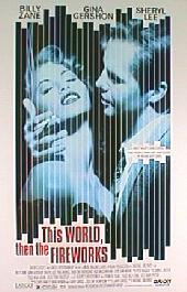 THIS WORLD THEN THE FIREWORKS original issue rolled double sided 1-sheet movie poster