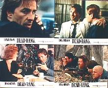 DEAD BANG original issue 8x10 British lobby card set