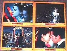 MOULIN ROUGE original issue 11x14 lobby card set