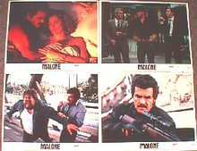 MALONE original issue 11x14 lobby card set
