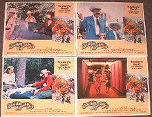 SMOKEY AND THE BANDIT 3 original issue 11x14 lobby card set