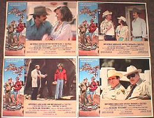 SMOKEY AND THE BANDIT II original issue 11x14 lobby card set