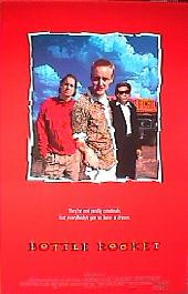 BOTTLE ROCKET original issue rolled double sided 1-sheet movie poster