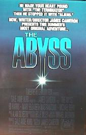 ABYSS original issue rolled regular 1-sheet movie poster