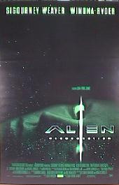 ALIEN RESURRECTION original issue rolled double sided International C 1-sheet movie poster