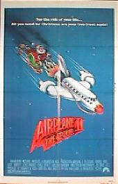 AIRPLANE II original issue folded 1-sheet movie poster